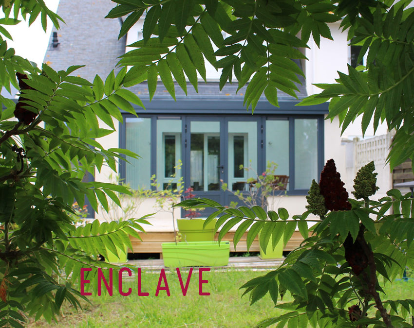 Projet d'extension d'une maison mitoyenne