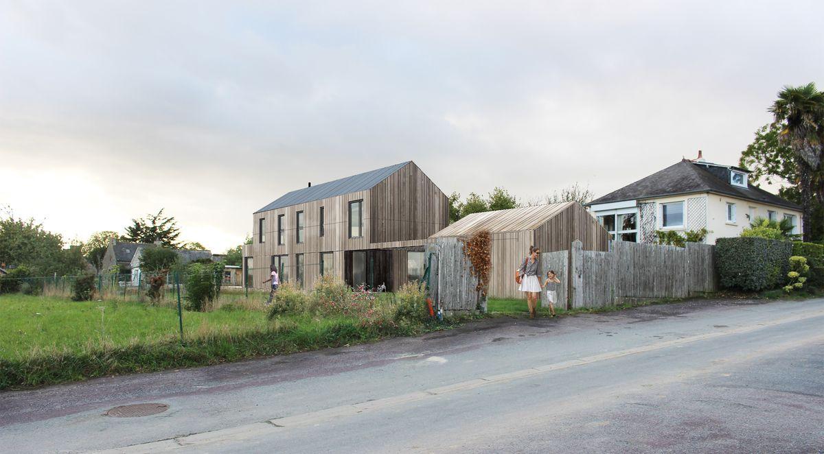 Conception maison écologique phase permis de construire