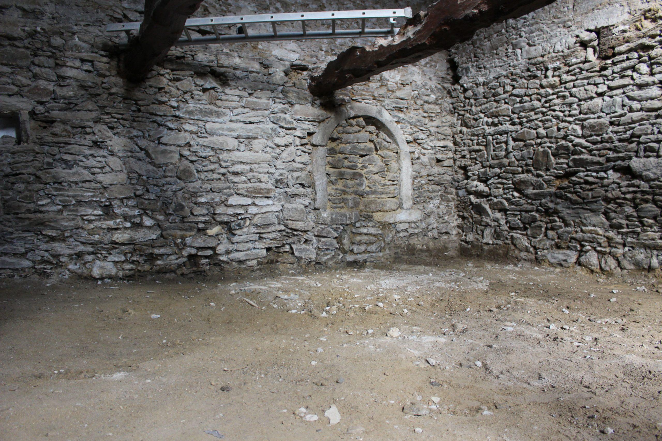 Maison avant travaux de rénovation côte d'émeraude