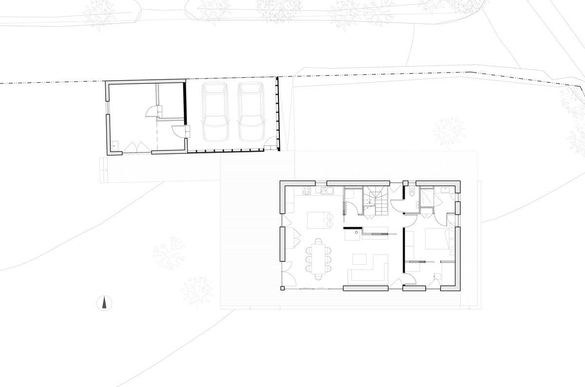 Plan d'une maison écologique