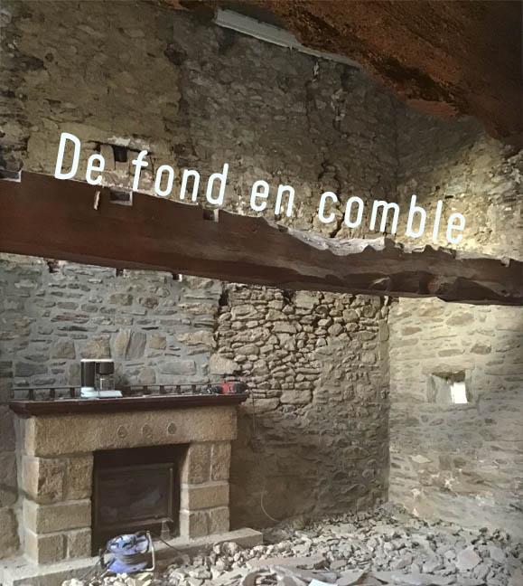 Projet de rénovation d'une maison en pierres